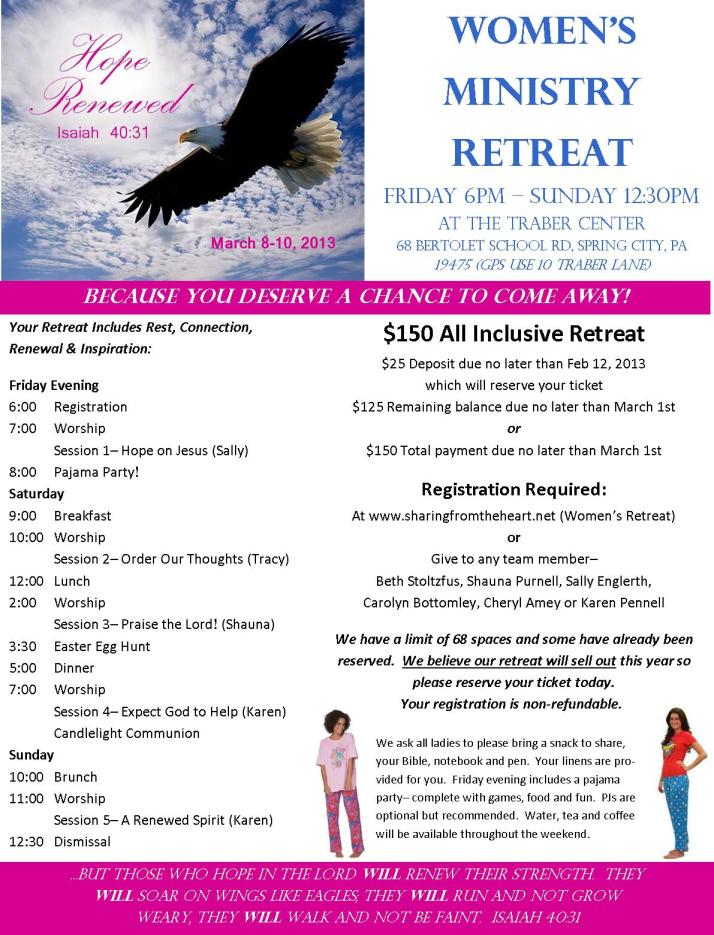 Retreat Poster 2013